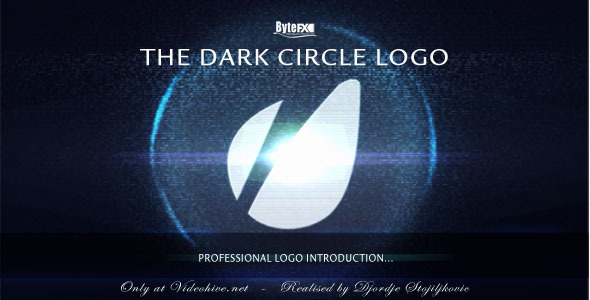 After Effects Project - VideoHive The Dark Circle Logo 541856