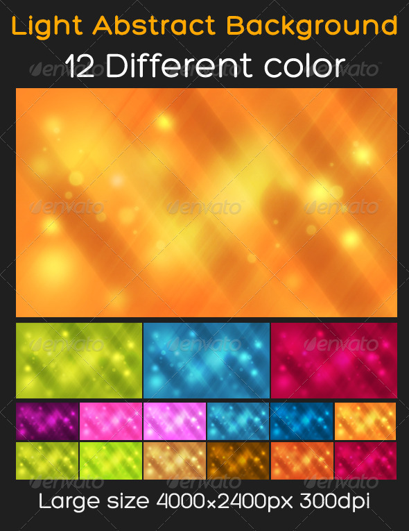 GraphicRiver Light Abstract Background 542021