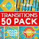 50 Transitions Pack with Opener - VideoHive Item for Sale