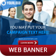 Corporate Web Banner Vol 3 - GraphicRiver Item for Sale