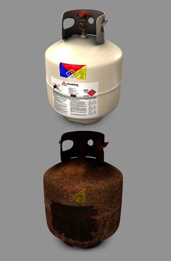 3DOcean Propane Tank 3D Models -  Buildings and Architecture  Interiors 543014