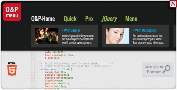 CodeCanyon - Quick & Pro Menu Navigation jQuery Plugin - Decoded RiP