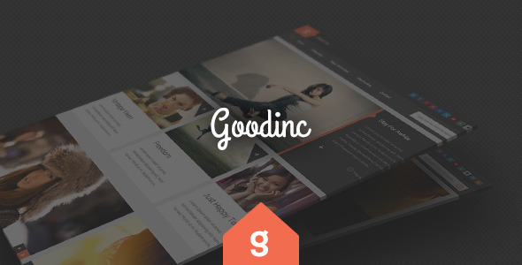 Theme de WordPress Estilo Flat: GoodInc