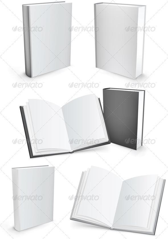 GraphicRiver Vector books 544237