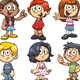 Cartoon Kids - GraphicRiver Item for Sale