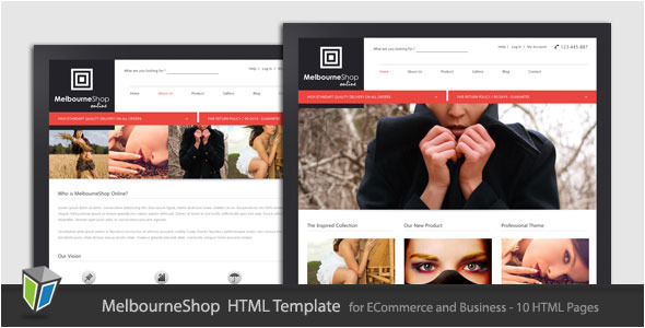 TF MelbourneShop - Business eCommerce HTML Template - Rip