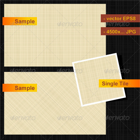 GraphicRiver Seamless Canvas Texture 545376