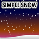 Simple Snow [Animated Generative Background] - ActiveDen Item for Sale