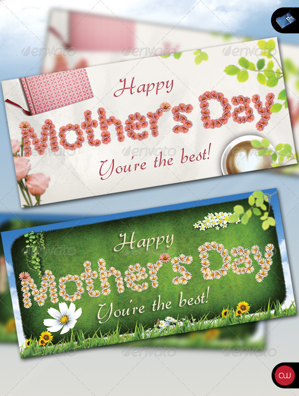 GraphicRiver Greeting Card Happy Mother s Day 234742