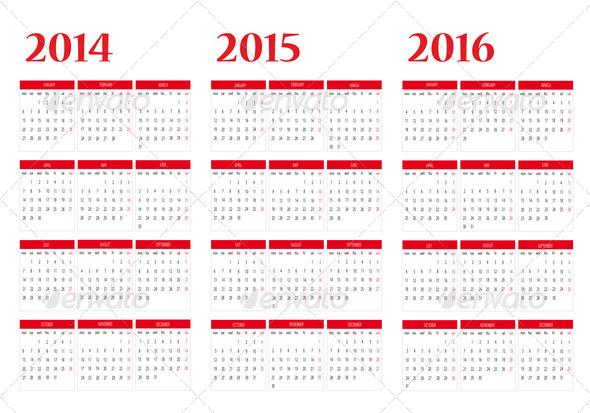Calendar 2014 (Misc) .