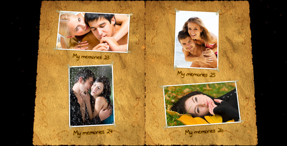 After Effects Project - VideoHive Photobook 530943