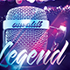 Legend Flyer + Mixtape Cover - GraphicRiver Item for Sale