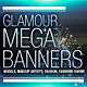 Glamour, Fashion Web Banners & Advertising Kit - GraphicRiver Item for Sale
