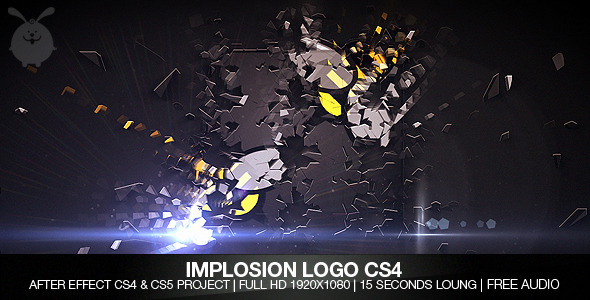 After Effects Project - VideoHive Implosion Logo 547104