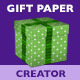 Gift Paper Creator - GraphicRiver Item for Sale