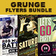 Creative Grunge Flyer Bundle - GraphicRiver Item for Sale