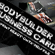 Body Builder Business Card - GraphicRiver Item for Sale