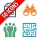 Business Icons - Colored Series - GraphicRiver Item for Sale