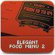 The Food Company Menu - GraphicRiver Item for Sale