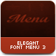 Design Food Menu - GraphicRiver Item for Sale