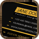 IntenseArtisan BUSINESS CARD VOL.25 - GraphicRiver Item for Sale