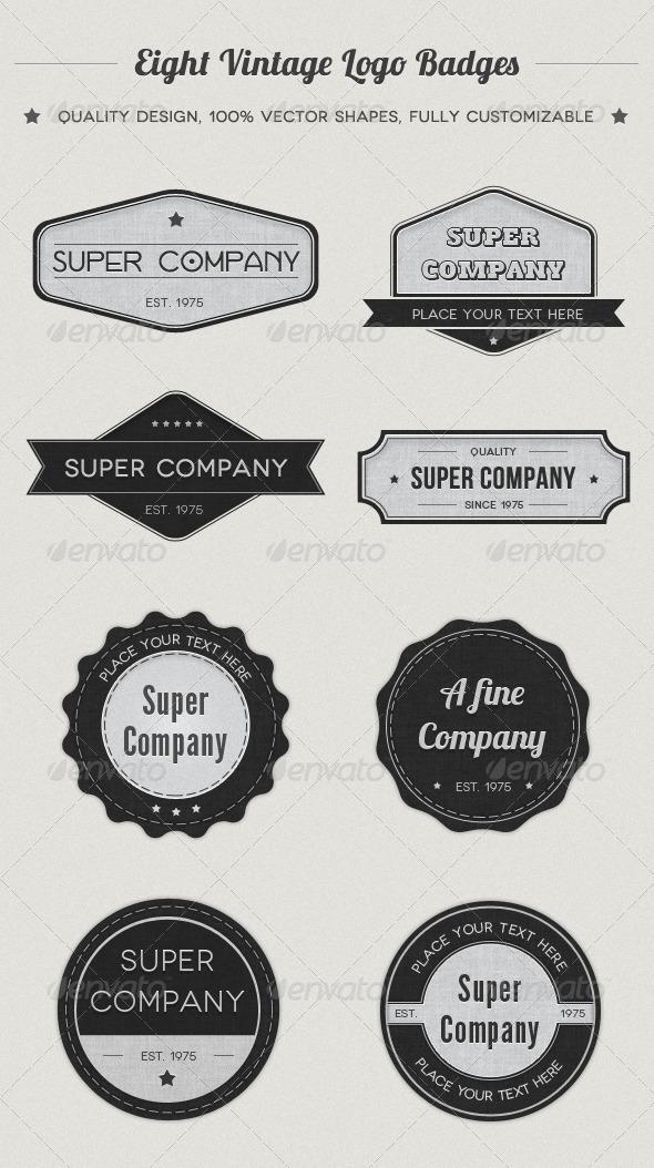 GraphicRiver Vintage Logo Badges 549336