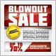 Blowout Sale Event Flyer - GraphicRiver Item for Sale