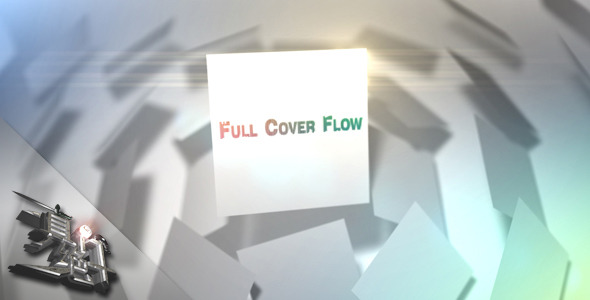 After Effects Project - VideoHive Full Cover Flow 549756