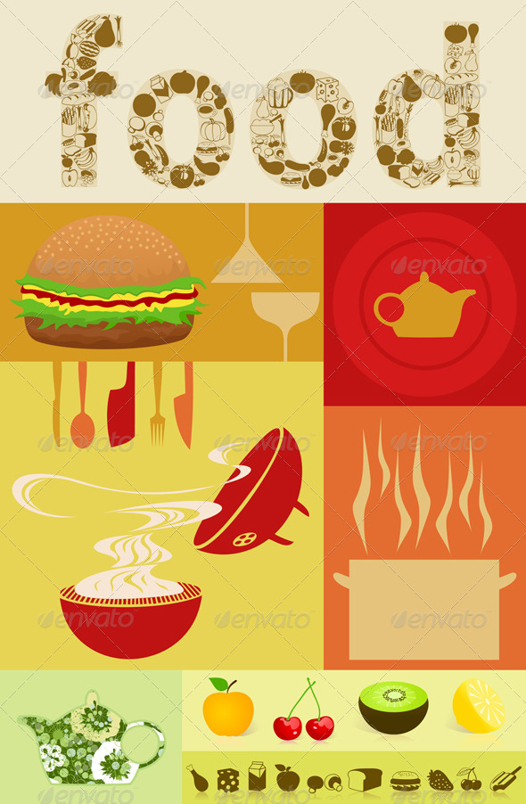 Graphic River Food5 Vectors -  Objects  Food 550171