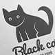 Black Cat Logo - GraphicRiver Item for Sale
