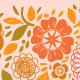 Pastel Colored Flowers and Leaves Seamless Pattern - GraphicRiver Item for Sale