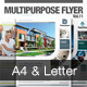 Multipurpose Business Flyer Vol.11 - GraphicRiver Item for Sale