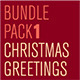 Christmas Greetings Bundle Pack 1 - GraphicRiver Item for Sale