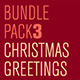 Christmas Greetings Bundle Pack 3 - GraphicRiver Item for Sale