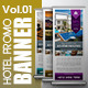 Hotel Promo Banner Vol.01 - GraphicRiver Item for Sale