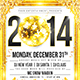 New Year 2014 disco flyer - GraphicRiver Item for Sale
