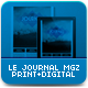 Le Journal MGZ Print & Digital - GraphicRiver Item for Sale