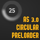 AS 3 Circular Preloader - ActiveDen Item for Sale