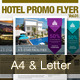 Hotel Promo Flyer Vol.01 - GraphicRiver Item for Sale