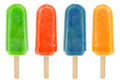 Four Colorful Popsicles - PhotoDune Item for Sale