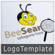 Bee Search Logo - GraphicRiver Item for Sale