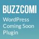 BuzzComi - Responsive WordPress Coming Soon Plugin - CodeCanyon Item for Sale