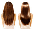 Before and After Damaged Hair Treatment - PhotoDune Item for Sale