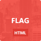 Flag. - Clean and Modern Template - ThemeForest Item for Sale