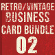 Retro/Vintage Business Card Bundle - GraphicRiver Item for Sale