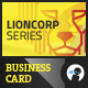 Lioncorp Series - Business Card - GraphicRiver Item for Sale