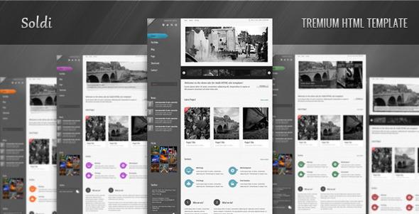ThemeForest - Soldi - HTML Site Template - RiP