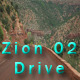 Drive at Zion National Park park 02 Full HD - VideoHive Item for Sale