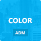 Color life - Premium Admin Template - ThemeForest Item for Sale