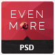 Evenmore Multipurpose Premium PSD Template - ThemeForest Item for Sale